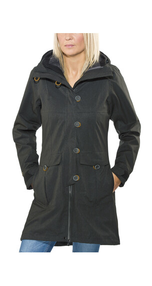 Bergans Bjerke Jacket Lady 3in1 Black/Solid Dark Grey